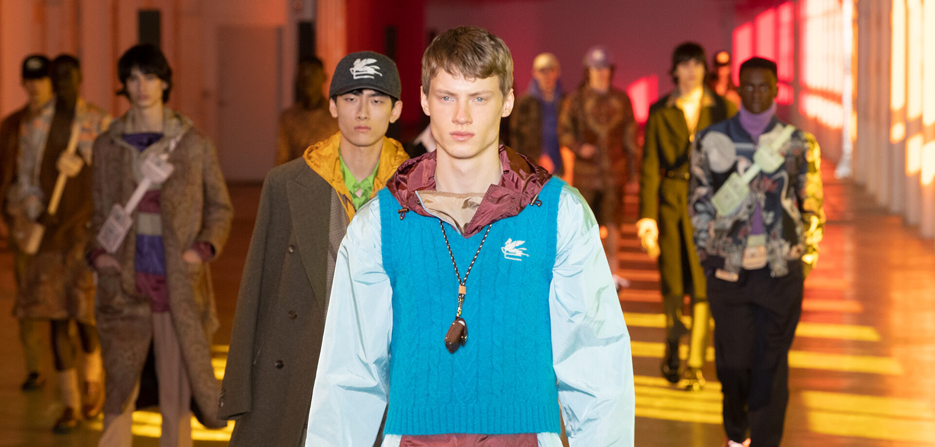 ETRO_MEN'S FALL-WINTER 2021 FASHION SHOW