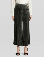 CULOTTES IN SMOOTH VELVET
