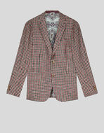 TAILORED JACKET IN HOUNDSTOOTH