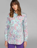 PAISLEY设计衬衫