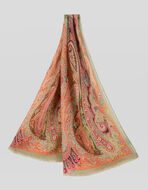 PAISLEY CASHMERE SCARF
