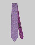 小ぶりPAISLEY柄 2種類布地 ネクタイ