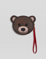 PAISLEY TEDDY BEAR COIN PURSE