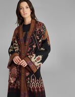 地毯印花大衣