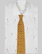 佩斯利印花领带