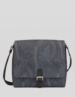 SHOULDER BAG WITH PAISLEY DESIGNS