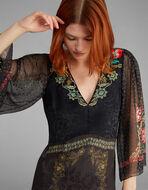 JACQUARD LONG DRESS