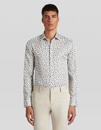 微型PAISLEY图案棉质衬衫