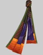 幾何学模様プリントスカーフ