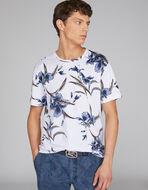 フローラル柄Tシャツ