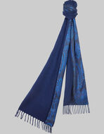 DOUBLE-FABRIC SCARF