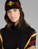 TRICOT PEAKED HAT