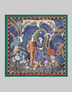 ETRO DREAMER-PRINT POCKET SQUARE
