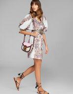 PAISLEY PRINT COTTON DRESS
