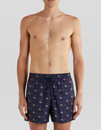 SWIM SHORTS WITH PEGASO AND ETRO LOGO