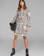 PAISLEY PRINT TUNIC DRESS