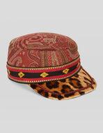 JACQUARD PATCHWORK HAT