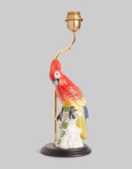 CERAMIC PARROT LAMP BASE