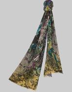 魔法の森のプリントスカーフ