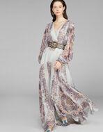LONG SMOCKED DRESS