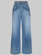 刺绣牛仔裤