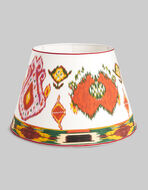IKAT-PRINT COTTON LAMPSHADE