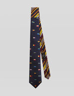 TWO FABRIC TIE