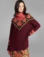 羊毛和羊绒混纺套衫