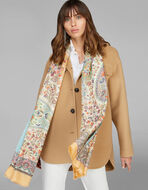 FLORAL PAISLEY PRINT SCARF