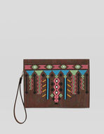 PAISLEY POUCH WITH EMBROIDERY