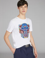 T-SHIRT WITH HANDPAINTED PRINT