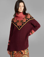 WOOL AND CASHMERE JUMPER