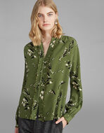 花卉印花衬衫