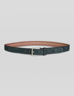 PAISLEY LEATHER BELT