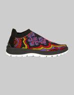 提花织物针织运动鞋