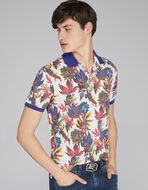 FLORAL PATTERN POLO SHIRT