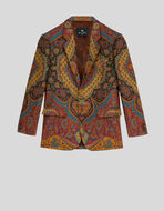 TAILORED JACKET WITH FLORAL PATTERN