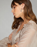 EARRINGS WITH PAISLEY