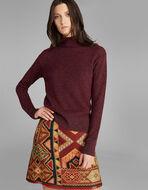 ルレックスの刺繍入りセーター