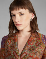PAISLEY EARRINGS WITH CRYSTALS