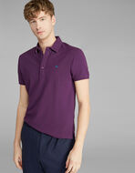 POLO SHIRT WITH CONTRASTING UNDERCOLLAR
