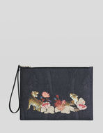 TIGER AND WATER LILY IPAD HOLDER