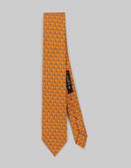 小ぶりPEGASOプリント ネクタイ