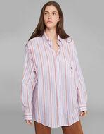 棉质条纹PEGASO衬衫