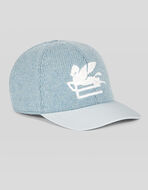 HAT IN JERSEY WITH PEGASO