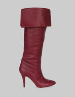 LEATHER BOOTS WITH CUFF