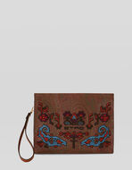 PAISLEY NÉCESSAIRE BAG WITH EMBROIDERY