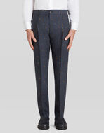 TAILORED TROUSERS WITH FLORAL PRINT