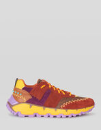 EARTHBEAT MULTICOLOUR SNEAKER WITH PAISLEY PRINT