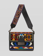 RAINBOW BAG WITH EMBROIDERY